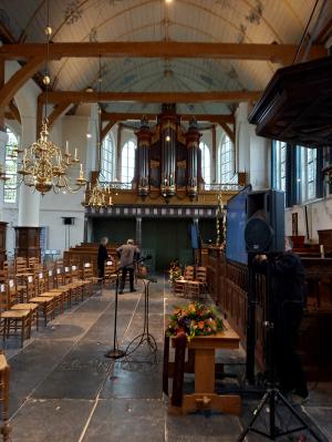 De kerk van Broek in Waterland