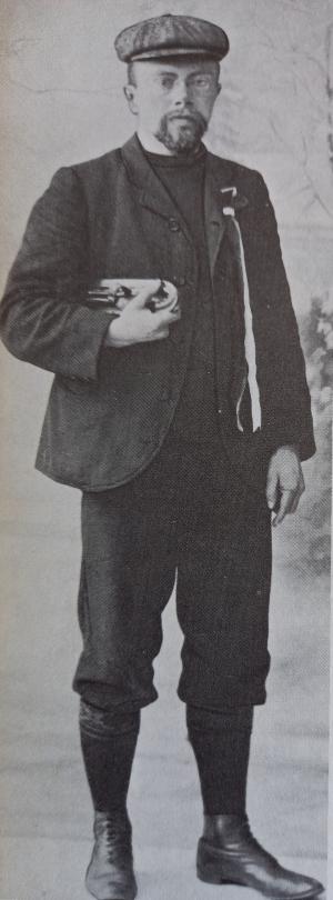 1909: Minne Hoekstra wint
