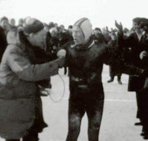 Bartlehiem 1963: Arie Kleywegt met Reinier Paping