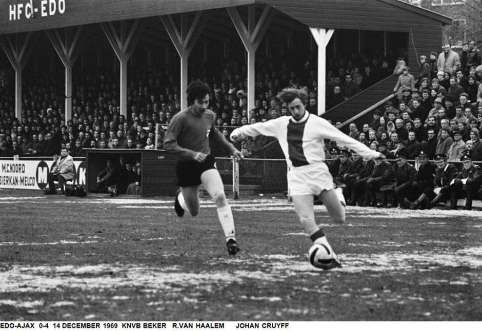 EDO-Ajax 1969. Topvoetbal in Haarlem Noord