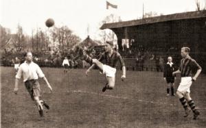 HFC-RCH 1938: Loek Biesbroeck met een technisch hoogstandje